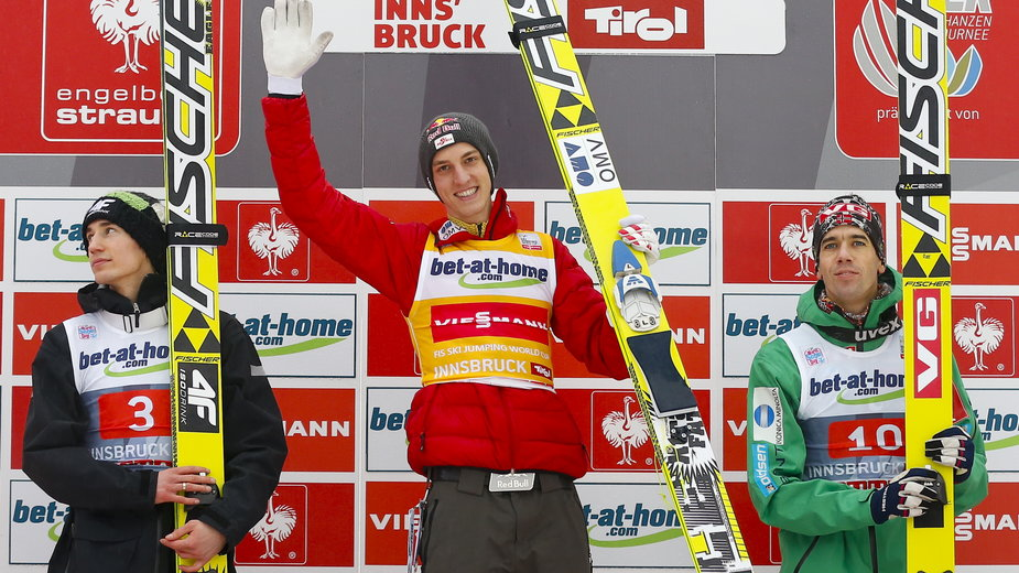 Kamil Stoch, Gregor Schlierenzauer i Anders Bardal