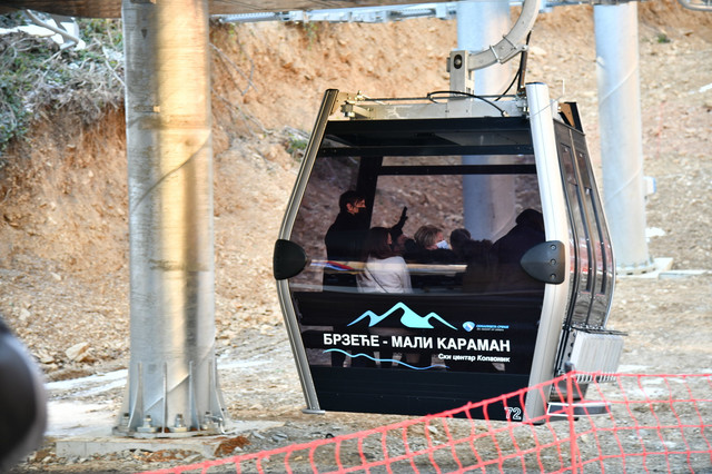 Kopaonik otvaranje gondola Brzeće Mali Karaman