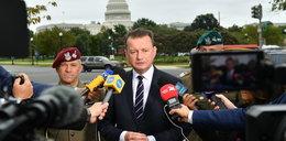 """Błaszczak o strzałach na granicy. """"Białoruskie prowokacje będą kontynuowane"""""""