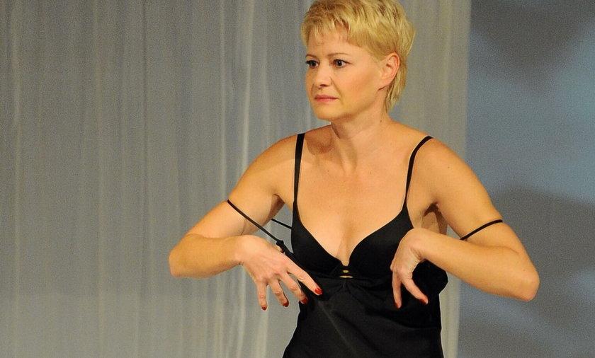 Małgorzata Kożuchowska w spektaklu