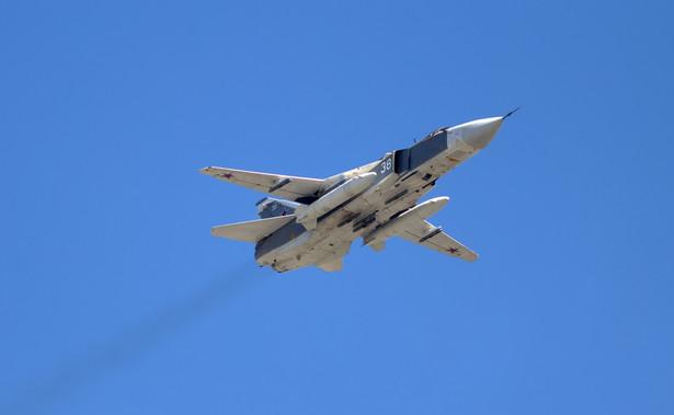 Rosyjski samolot Su-24