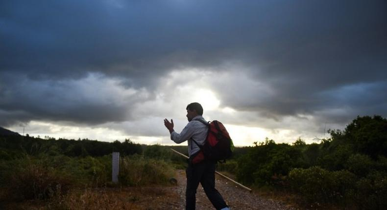 Carlos Gil takes on pilgrimages for others, especially Catholics unable because of health or too busy or lazy for the spiritual walk to the Portuguese town of Fatima