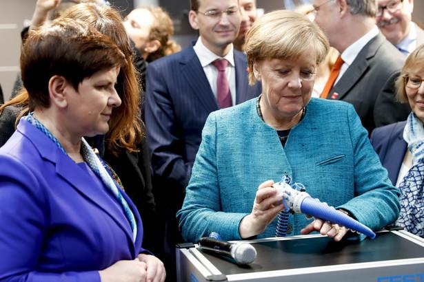 Angela Merkel i Beata Szydło odwiedziły na targach polskie i niemieckie stoiska.