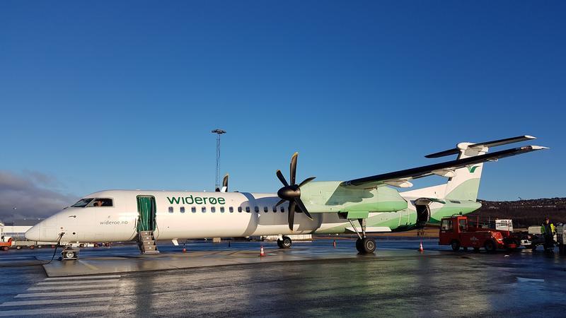 Samolot linii Widerøe