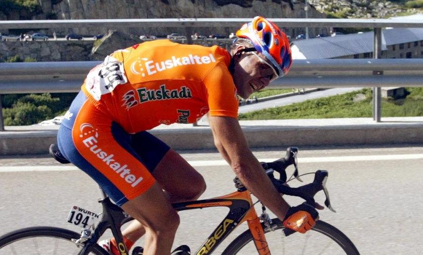 Były hiszpański kolarz wywołał kolejny skandal
