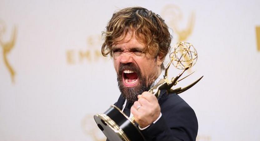 Peter Dinklage, winner of the award for Outstanding Supporting Actor in a Drama Series for 'Game of Thrones'