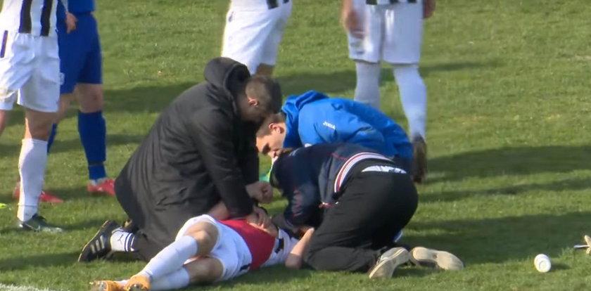 Tragedia podczas meczu. Nie żyje piłkarz
