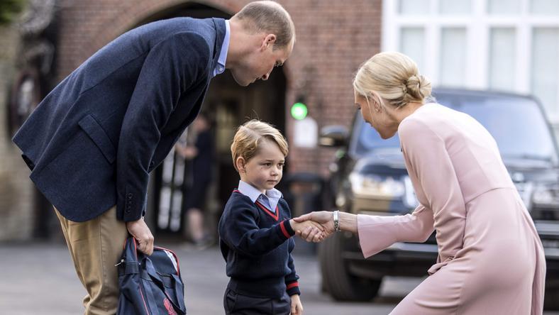 Pierwszy dzień szkoły księcia Jerzego