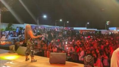 Tanzanians sing Gyakie's 'Forever' word for word as she thrills them at concert (WATCH)