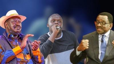 Raila and Orengo break into dance to Mejja's song [Video]