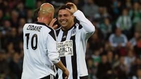 Ronaldo i Zidane zagrali razem, znów zachwycili