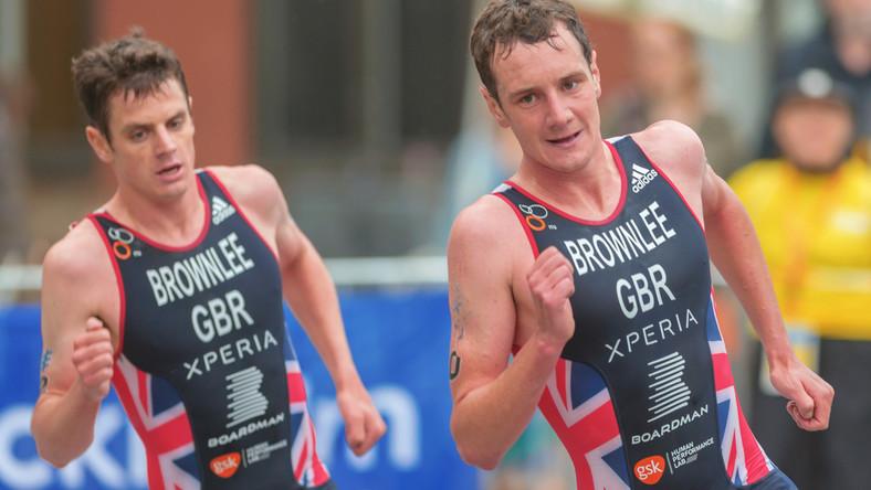 Jonathan Brownlee i Alistair Brownlee