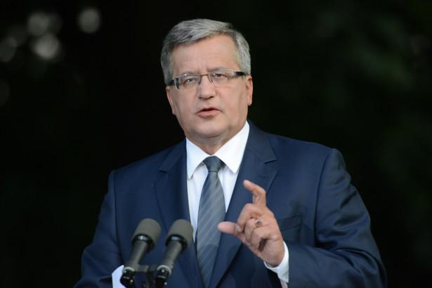 Prezydent Bronisław Komorowski. Fot. PAP/Jacek Turczyk