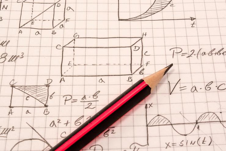 matematika, test, matura