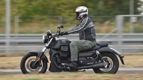 Moto Guzzi Audace - muskularny cruiser