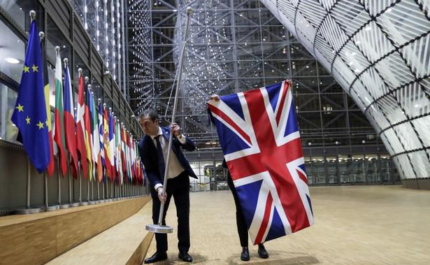 Brytyjska flaga znika z siedziby Komisji Europejskiej