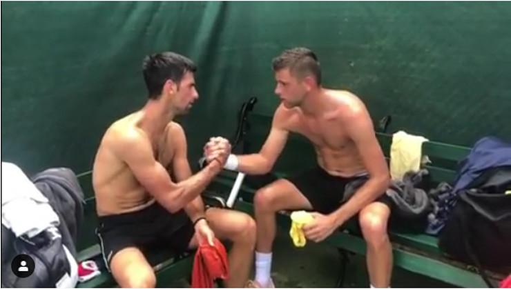 Novak Đoković, Filip Krajinović