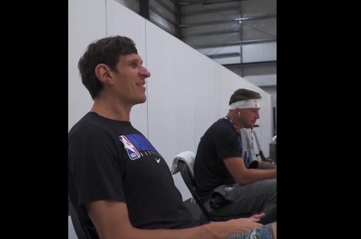 Luka Dončič i Boban Marjanović