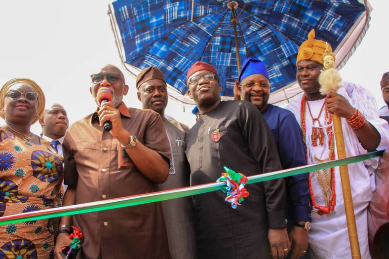 Amotekun launches in Ibadan on Thursday, January 9, 2020 (Seyi Makinde)