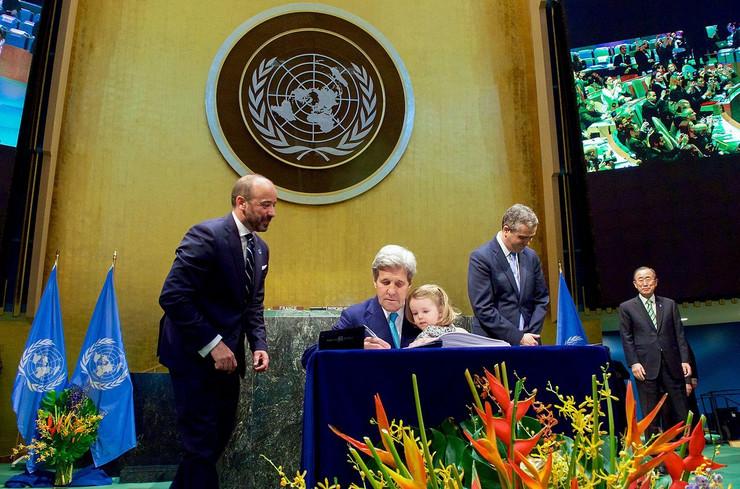 Pariski klimatski sporazum Džon Keri