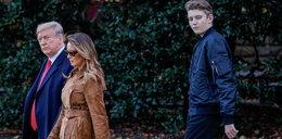 Najmłodszy syn Donalda Trumpa zaraził się koronawirusem