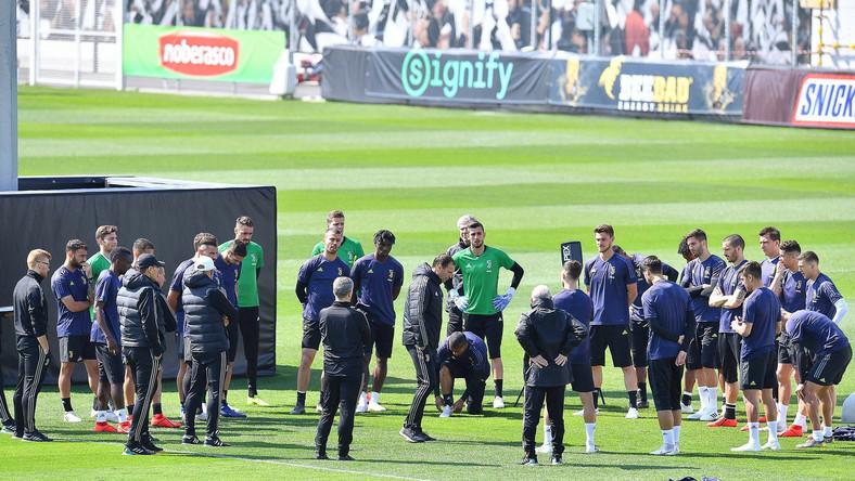 Piłkarze Juventusu Turyn