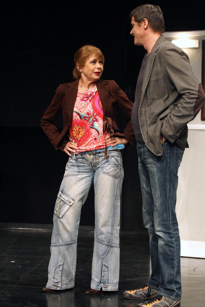 Neda Arnerić i Dragiša Milojković na sceni BDP-a