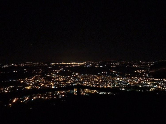 Pogled na Aranđelovac sa Bukulje