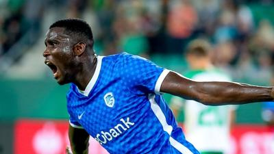 Nigerian striker Paul Onuachu gets a pay rise with new Genk contract