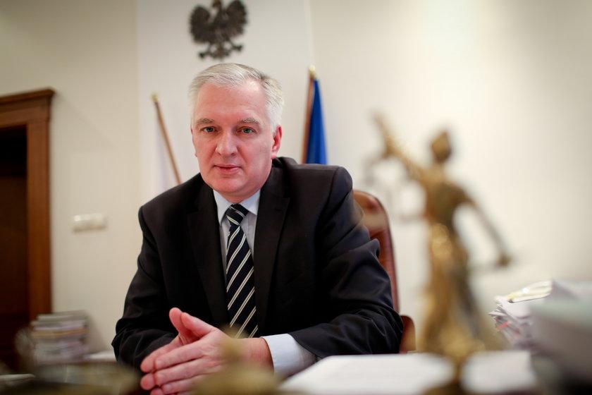 Jarosław Gowin, były minister sprawiedliwości i były poseł PO. Obecnie prezes Polski Razem.