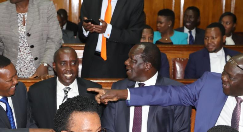 MP David Ole Sonkok claims governors hold secret meetings with senators at a Nairobi club to get favourable reports