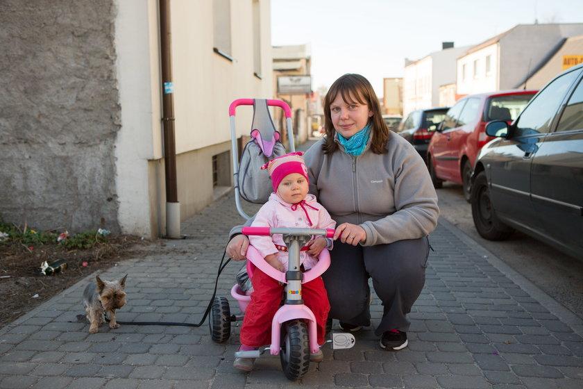 Anna Wojciechowska (30 l.) z córką Lilianną (2 l.)