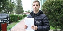 17-letni Mariusz na długo zapamięta spotkanie z władzą: Policjant omal nie skręcił mi karku!