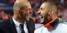 Zinedine Zidane ochrzanił kolegę!