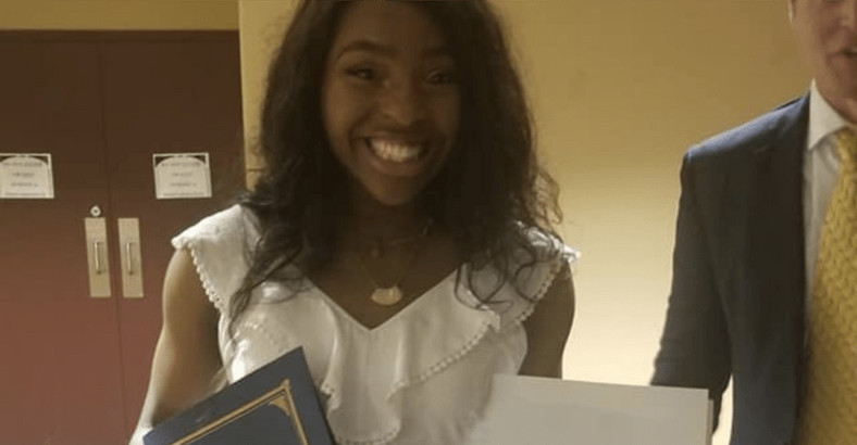 "Tobechukwu ""Tobi"" Phillips graduates at the top of her class (becauseofthemwecan)"