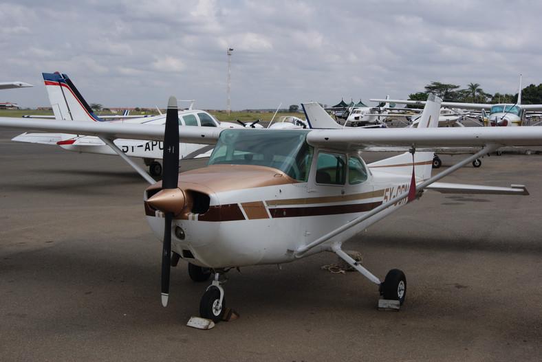 A small aircraft at Wilson airport. (Kenya Airports Authority)