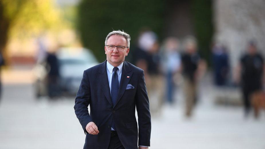 Krzysztof Szczerski nowym ambasadorem przy ONZ. Zbigniew Rau wręczył nominacje