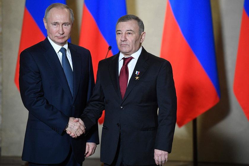 Władimir Putin i Arkadij Rotenberg