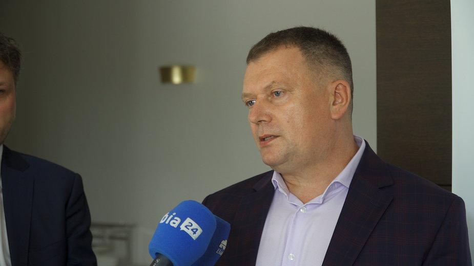 Dr Sławomir Gołaszewski, zastępca dyrektora ds. lecznictwa w Wojewódzkim Szpitalu Zespolonym w Białymstoku