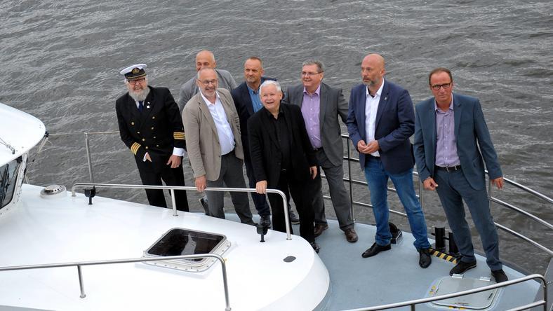 Przedstawiciele PiS na finale regat w Szczecinie