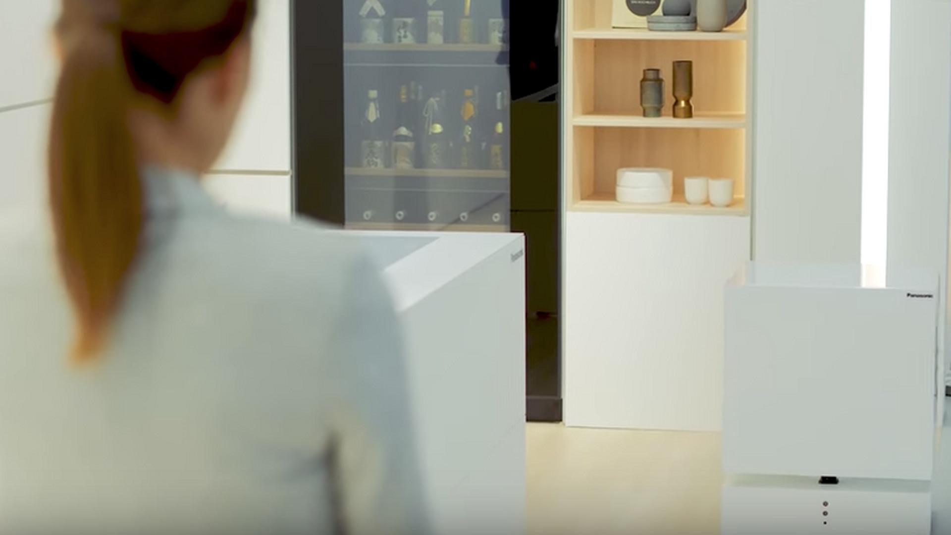 Kleiner Cooler Kühlschrank : Fahrender kühlschrank ku von panasonic auf ifa präsentiert noizz