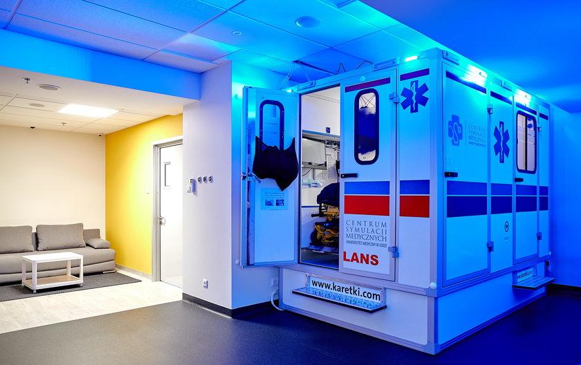 Centrum Symulacji Medycznych w Łodzi