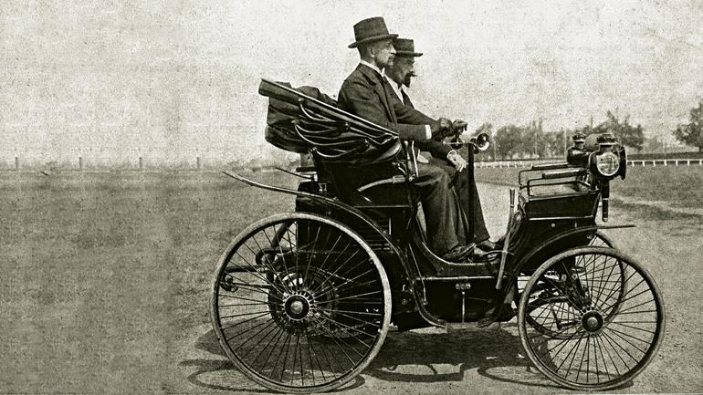Stanisław Grodzki ipierwsze auto  wPolsce – Peugeot  3,5 KM z1896 roku