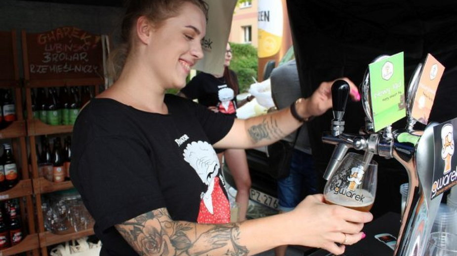 Lotny Festiwal Piwa w Lubinie