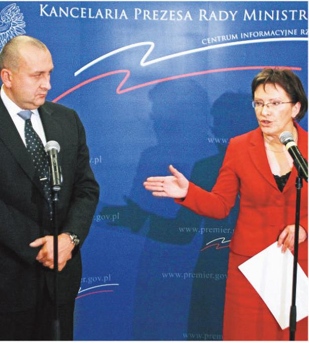 Ewa Kopacz wie, że szefa NFZ nie stać na większe wydatki Fot. Tomasz Gzell/PAP