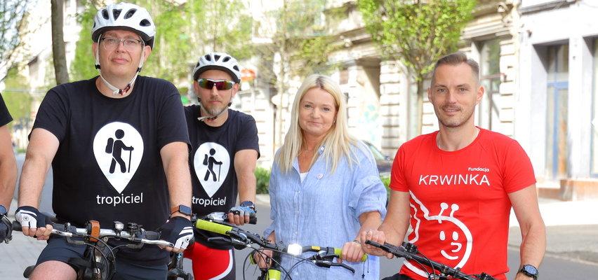 Rowerzyści z Łodzi zachęcają: Czas na lover i... pomoc dla dzieci chorych na nowotwory. Wsiadaj i jedź!