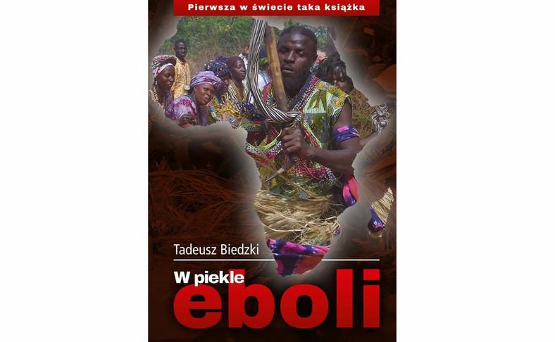 """okładka książki """"W piekle eboli"""""""