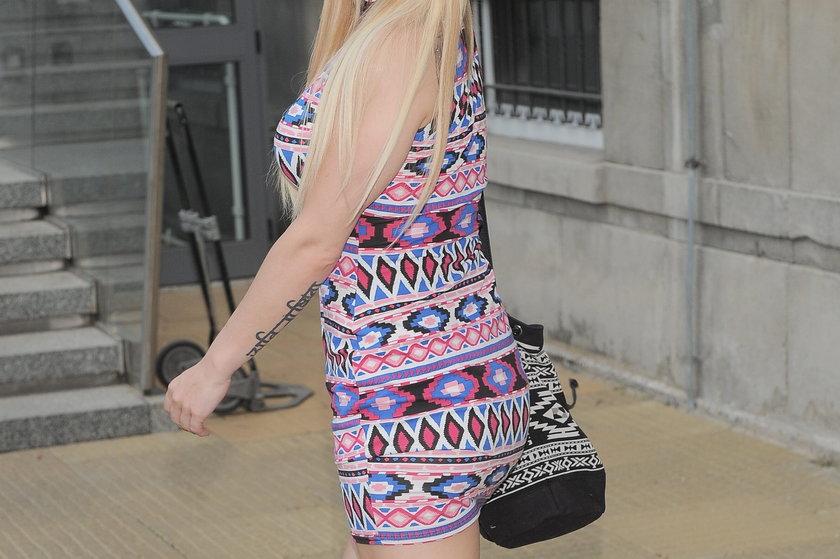 Doda w etnicznej sukience