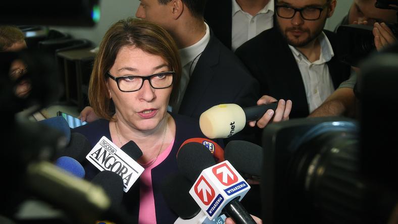 Beata Mazurek, rzeczniczka Prawa i Sprawiedliwości