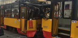 W Warszawie zderzyły się tramwaje. Są ranni
